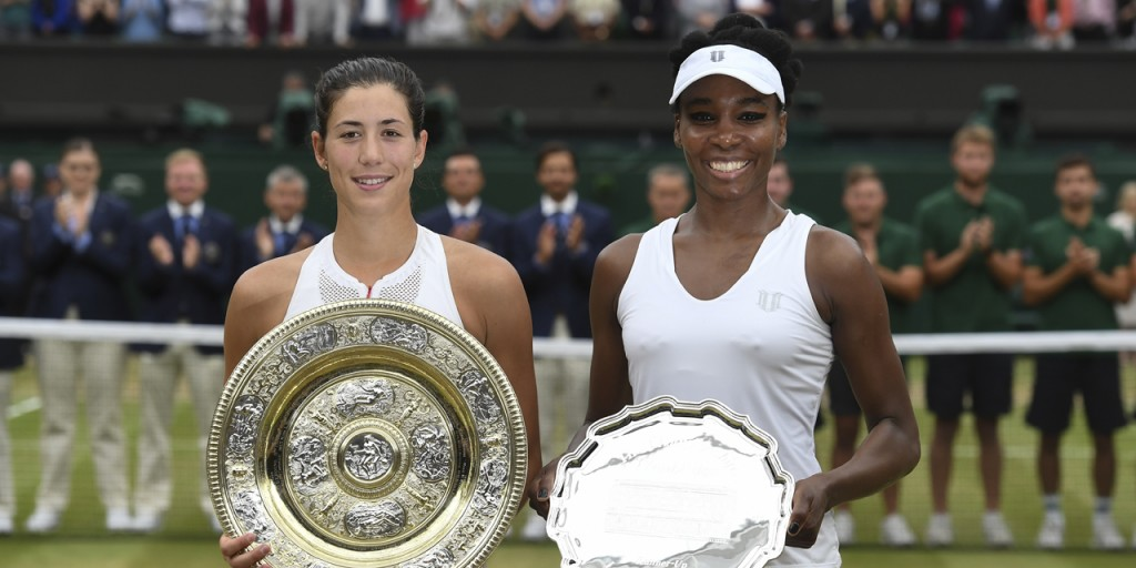 Garbine Muguruza - Venus-Williams Wimbledon 2017