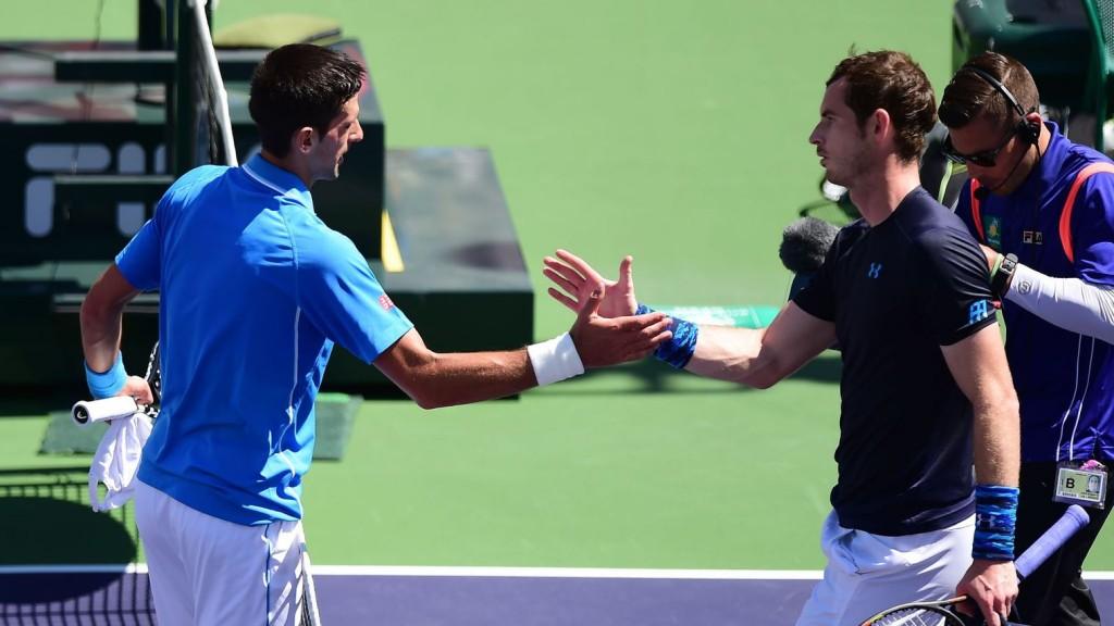 Novak Djokovic et Andy Murray s'affronteront lors des demi-finale de l'Indian Wells.