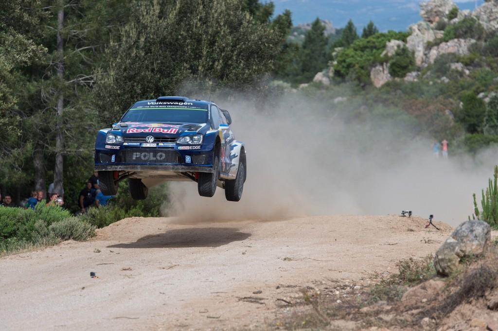 La victoire finale du Rallye de Sardaigne 2015 est revenue à Sébastien Ogier.
