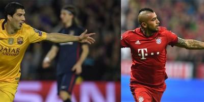 Le Barça et le Bayern Munich sont les deux vainqueurs des matches aller de la quart de finale de la ligue des champions.