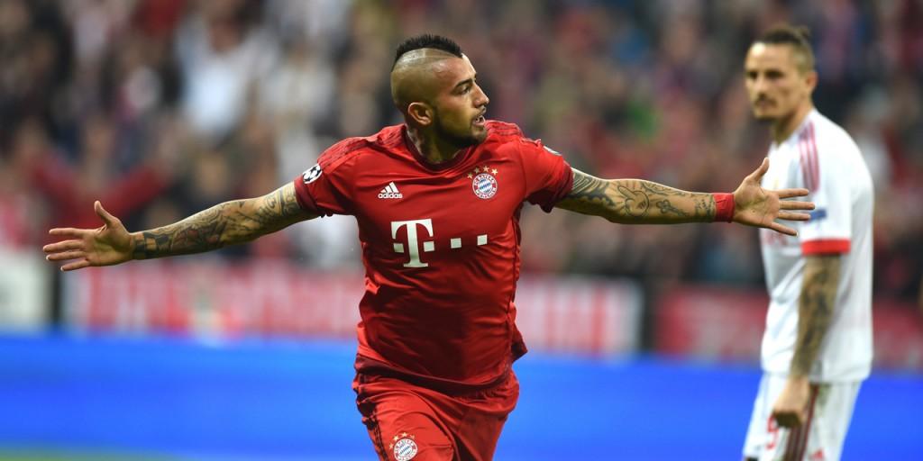 Ligue-des-champions-le-Bayern-bat-Benfica-1-0-grace-a-Arturo-Vidal