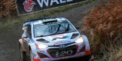Pour le dernier rendez-vous de la saison, les pilotes du championnat du monde des rallyes avaient rendez-vous au Pays de Galles.