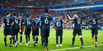 Les Bleus en finale de la COupe du Monde 2018